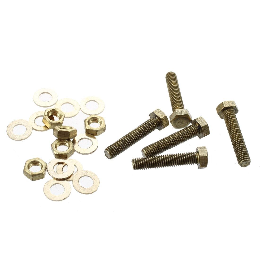 Arandelas 10mm Paquete de 25 M10 arandelas de latón latón sólido