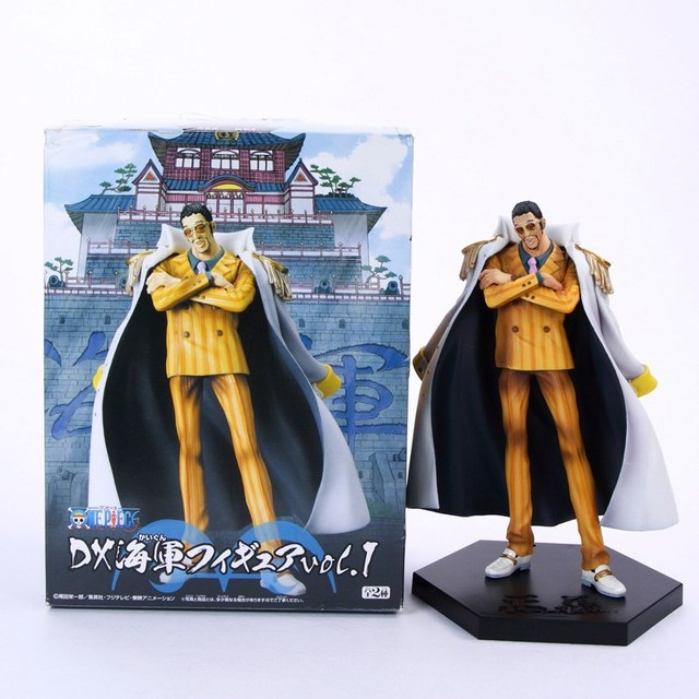 one piece borsalino kuzan akainu sakazuki 17cm model anime pvc