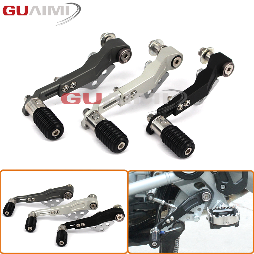 Motorcycle CNC Aluminum Adjustable Folding Gear Shifter Shift Pedal Lever For BMW R1200GS LC 2013-2016 R1200GS ADV 14-16 bjmoto motorcycle cnc adjustable folding gear shift lever shifter brake pedal for bmw r1200gs lc r1200gs adv 2014 2016