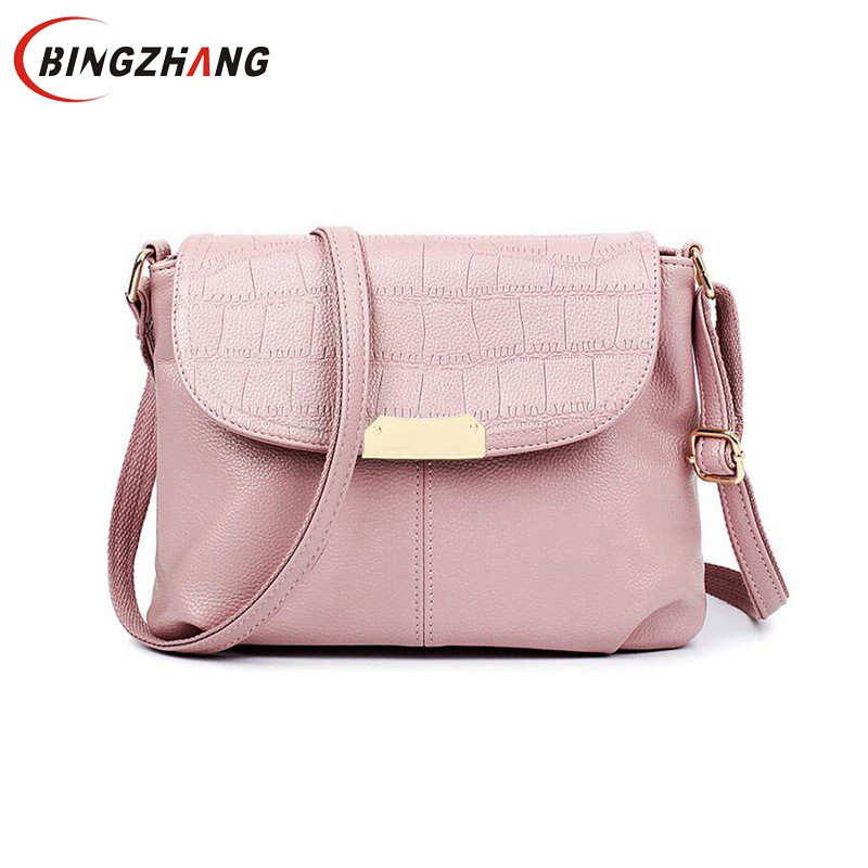 Brand New PU Leather Bags Women Flap Crossbody Bags Ladies High Quality Women Messenger Bags Shoulder Summer 2017 Sac  L4-3069 xiyuan brand ladies beautiful and high grade imports pu leather national floral embroidery shoulder crossbody bags for women