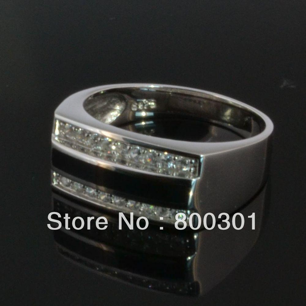 31930 большое каменное кольцо для мужчин, мужские серебряные кольца