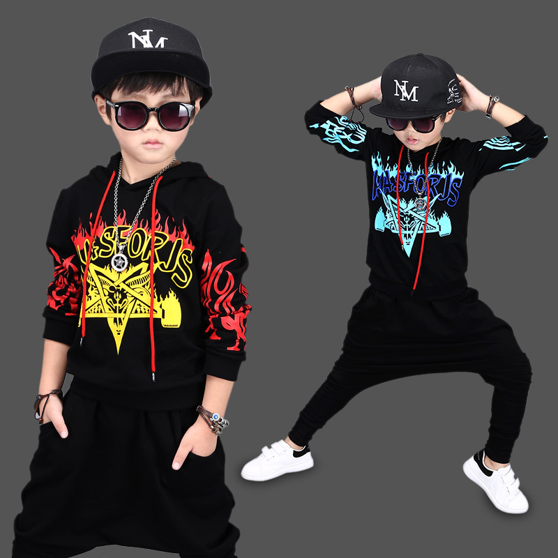 2017 Children Jazz Dance Clothing Boys Girls Street Dance Hip Hop Dance Costumes Kids ...