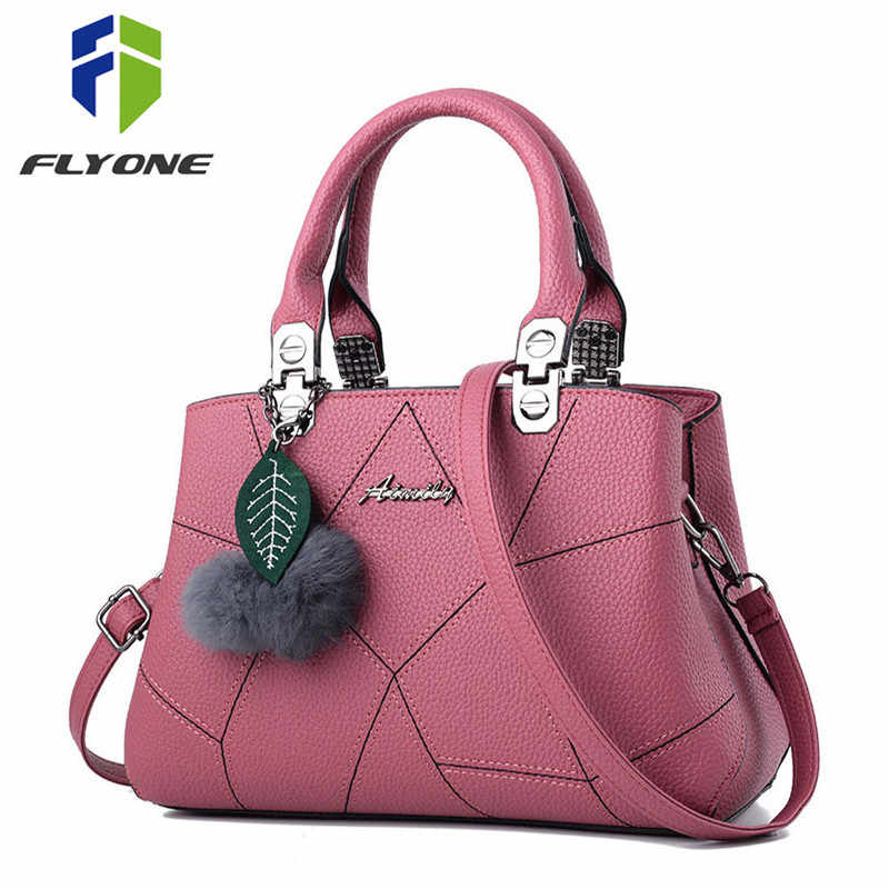 b2b85532acbd Detail Feedback Questions about New Sale PU Leather Women Handbags with Fur  Top Handle Women Bag Purse Ladies Shoulder Bag Crossbody Messenger Casual  Tote ...