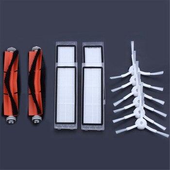 6 х Боковая щетка + 4x HEPA фильтр + 2x основной щетка подходит для xiaomi вакуум 2 roborock s50 xiaomi roborock xiaomi Mi робот