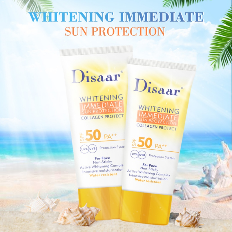 Summer Concealer Sunscreen Cream Body Facial Sun Lotion SPF 35 Isolation UV SunblockWaterproof Lasting Cosmetic Makeup
