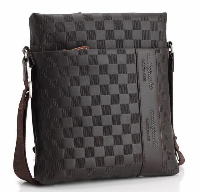 Bolsa de couro saco de homens mensageiro saco ocasional bolsa de negócios de dh62