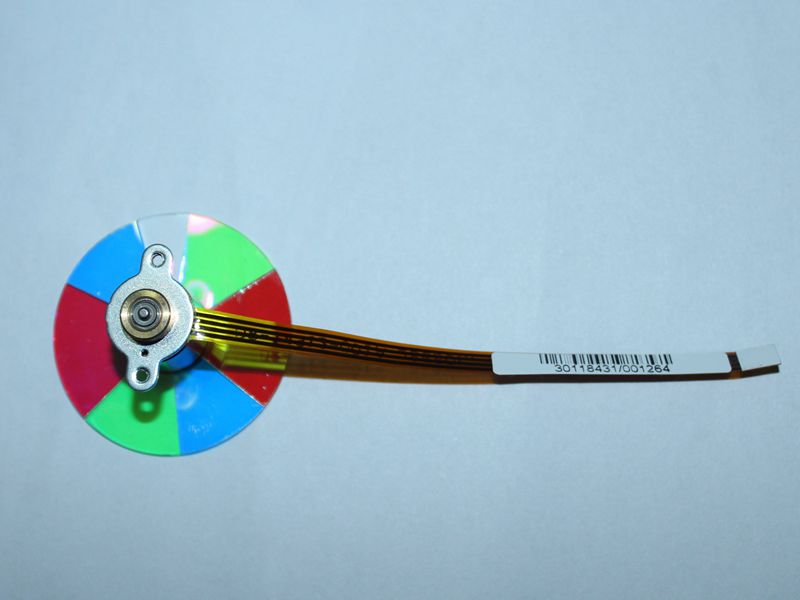 Новый для Mitsubishi ex100u es10u ex100lp ah215 projecter Цвет колеса