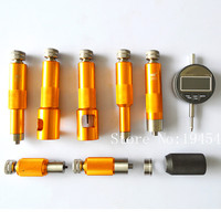 Big sales! common rail injector valve measuring tool kit for Bossch and for Densso diesel injector valve stroke measuring tool