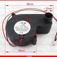 1 шт. X Бесщеточный вентилятор охлаждения постоянного тока 12 В 0.25A 55 мм x 55 мм x 28 мм 5028B 2pin разъем