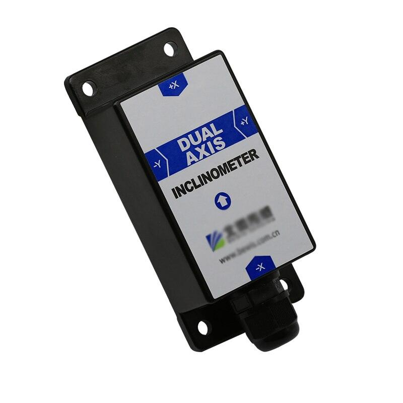 BWK226 Tilt Angle Capteur Double Axe Inclinomètre avec Précision 0.2 Degrés Résolution 0.02 Degrés RS232/RS485/TTL (en option)