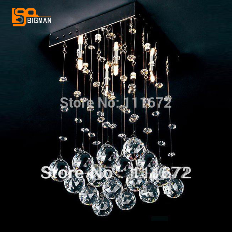 Wholesales square crystal ceiling light bedroom lampadari moderni home lighting коплстоун т moderni umeni