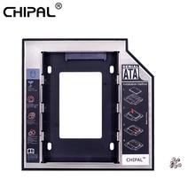 CHIPAL Алюминий Optibay 2nd HDD Caddy 12,7 мм SATA 3,0 коробка для жесткого диска корпус DVD адаптер 2,5 SSD 2 ТБ для ноутбука CD-ROM