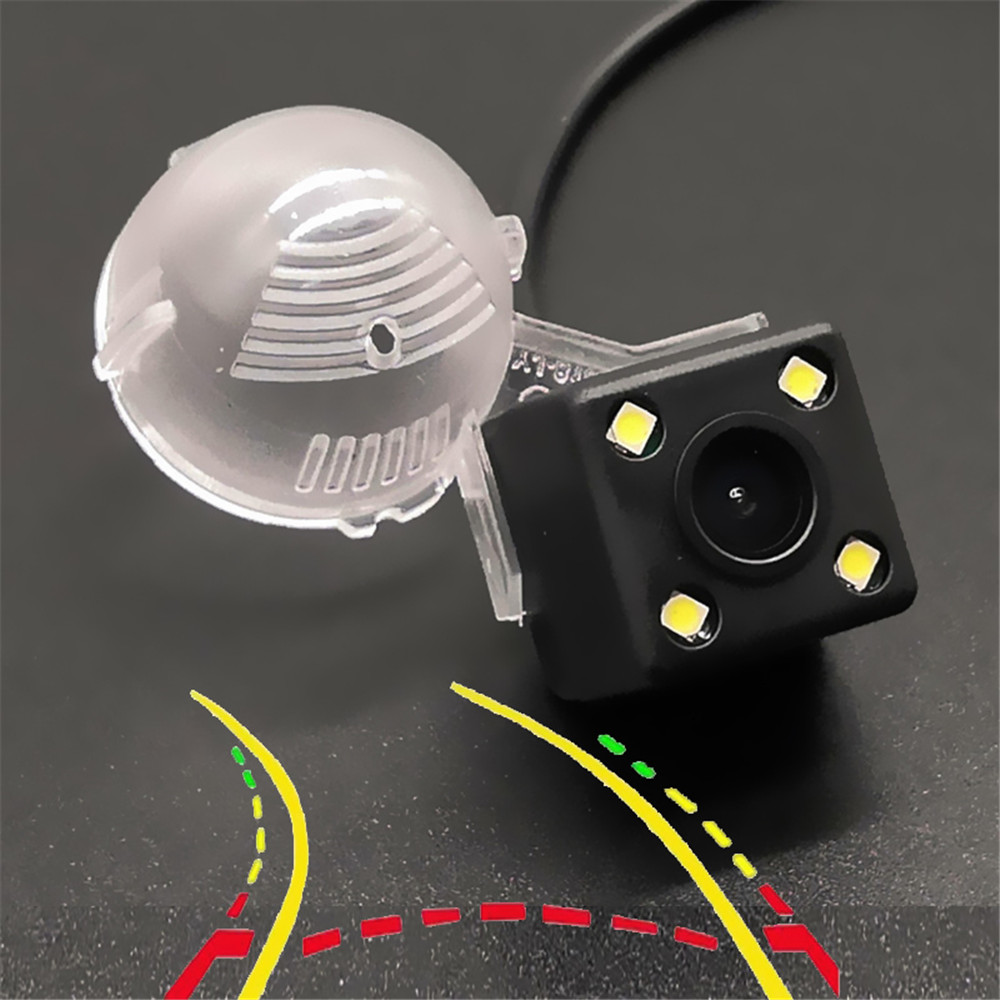 Intelligent Dynamic Trajectory Tracks Car Rear View Camera For Suzuki Swift Grand Vitara SX4 S-CROSS Crossover Alto XL-7 Jimny