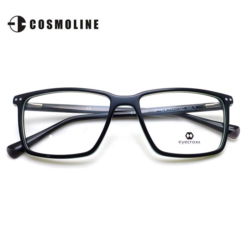 EYECROXX Gafas Vintage Mujeres Ópticos Acetato lentes gafas de Marco ...