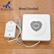 Wire Electronic DoorBell 90cm Household electronic doorbell