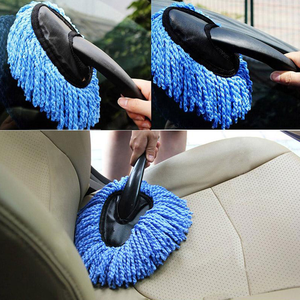 with Handle Handheld Premium Car Wash Brush Car Body Mop Windshield Dust Removal Cleaning Brush Duster Window