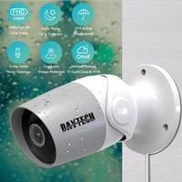 DAYTECH IP Camera Outdoor 1080P Security CCTV WiFi Monitor Video Surveillance Camera Waterproof 2MP Cloud Onvif Audio IR