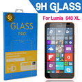 0.3 mm For Microsoft lumia 640 XL Premium Tempered Glass Screen Protector Guard Film With Retail Package