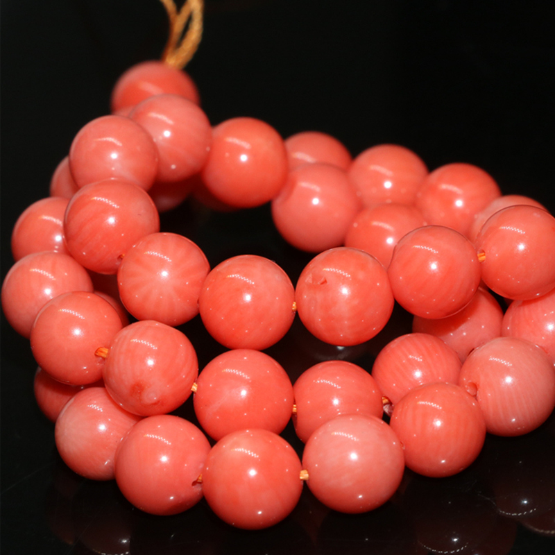 high quality pink natural coral round beads 2mm 3mm 4mm 6mm 7mm diy - Fashion Jewelry - Photo 2