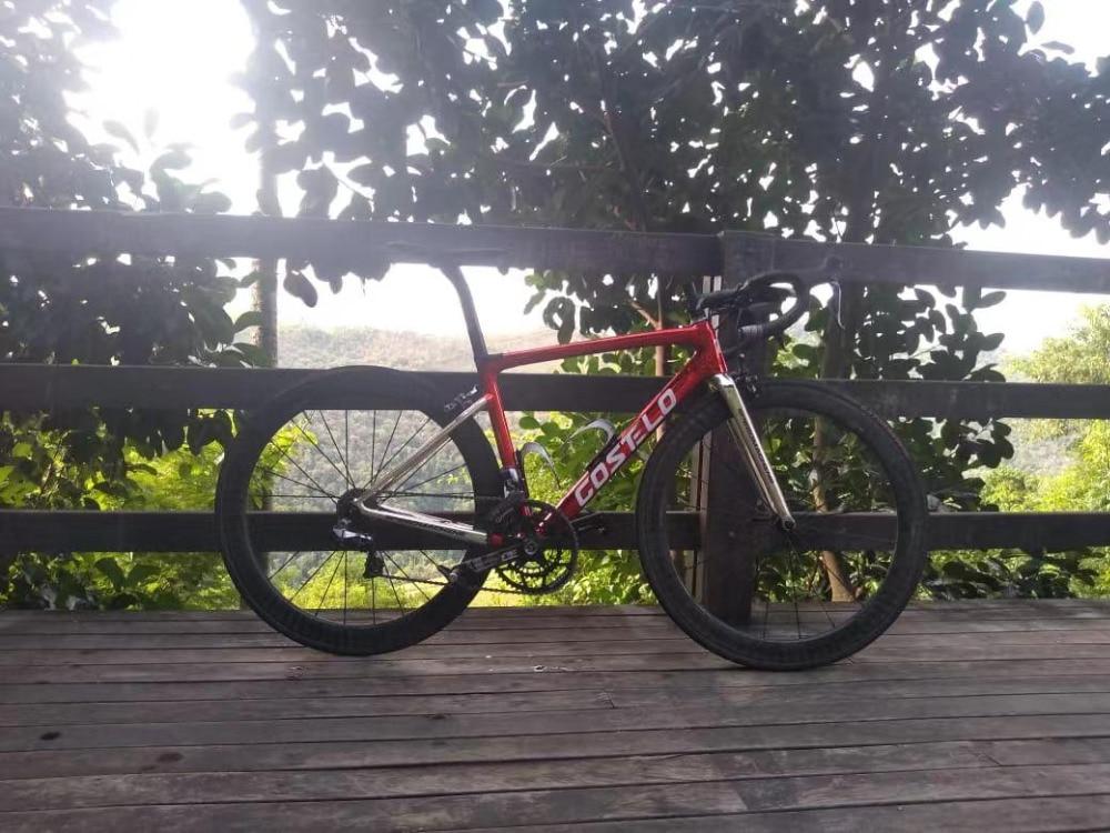 Costelo speedmachine3.0 vélo complet carbone vélo de route bici completa cadre de vélo groupe roue bicicleta vélo groupe DI2