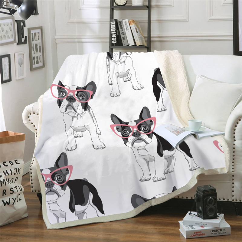 Blankets Punctual Cute Puppy 3d Print Coral Fleece Yoga Cobertor Beach Blanket Couch Air Conditioning Blankets Travel Bedding Koc 150x200cm Spare No Cost At Any Cost