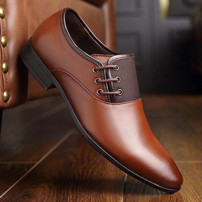 Pour La Mariage De Chaussures 44 Formelles 6559bl 6559ye 38 Pointu Hommes Robe 6559br Bout En Plus Osco Cuir Oxford Taille D'affaires Itxw6PP7