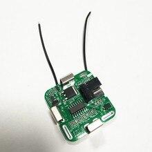 Bms 4S Mão furadeira elétrica placa PCBA placa de circuito da bateria de lítio 14.8 v para 3.7 v 18650 a energia da bateria com conector DC 16.8 v
