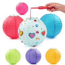 Colorfull Chinese Paper Lanterns For Wedding Event Party Decoration Holiday