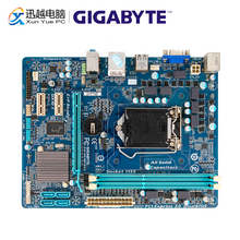 Gigabyte GA H61M DS2 שולחן העבודה האם H61M DS2 H61 LGA 1155 עבור Core i3 i5 DDR3 16GB מיקרו ATX משמש Mainboard
