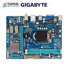 Gigabyte GA H61M DS2 carte mère de bureau H61M DS2 H61 LGA 1155 pour Core i3 i5 DDR3 16GB micro atx utilisé carte mère