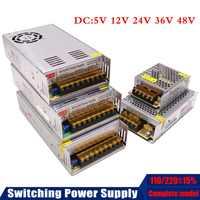 DC5V 12 V 24 V 36 V 42 V 48 V 60 V 300 W 350 W 360 W 600 W Schaltnetzteil Quelle Transformator AC DC CNC/LED/überwachung/3D drucker