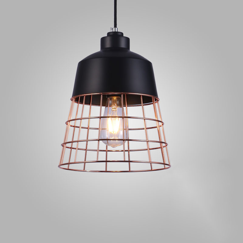 Nordic style Loft Simple Iron American Style Pendant Light For Dining Room Home Restaurant Creative Study Room Living Room LED ark light vintage rural style pendant light american wrought iron led pendant light cottage dining room living room study room