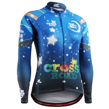 Cycling jersey Woman Long Sleeves Men's Zipper Compression Tight Skin T-shirt 3D Prints Breathable Tops Bicycle Jersey Top Wear