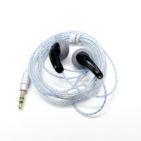 Newest FENGRU DIY EMX500S In Ear Earphones Flat Head Plug DIY Earphone HiFi Bass Earbuds DJ