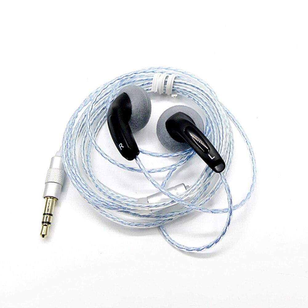 Più nuovo FENGRU FAI DA TE EMX500S In-Ear Auricolari Spina a Testa Piatta FAI DA TE Auricolare HiFi Auricolari Bassi DJ Auricolari Basso Pesante Qualità del Suono