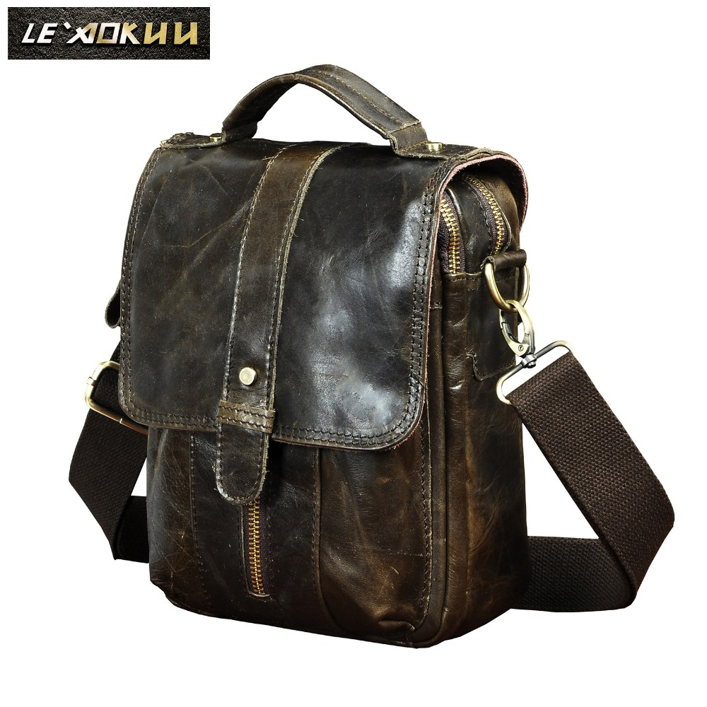 Original Leather Male Designer Travel Casual