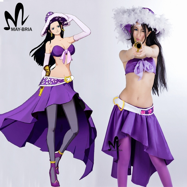 Hot anime Halloween costumes for women adult One Piece Nico Robin