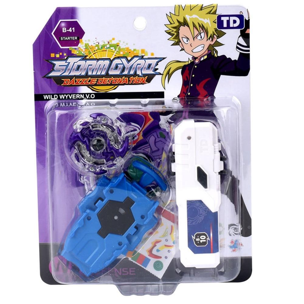 Beybleyd Burst with lanucher Newest Toys gyroscope combat gyro alloy assembly toy single gyro TD09A55