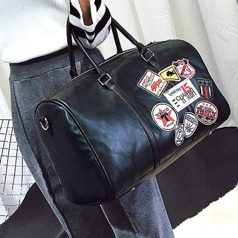 цена на women high quality pu leather maxi big capacity shopping bag handbag travel bag shoulder bags