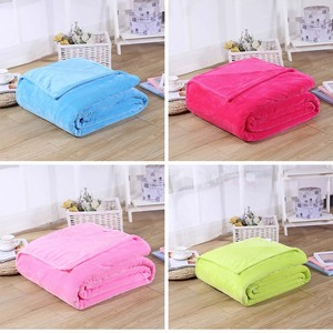 Image 4 - CAMMITEVER 24 Colors Home Textile Solid Air/Sofa/Bedding Throw Flannel Blanket Winter Warm Soft Bedsheet 150/180*200cm 200*230cm