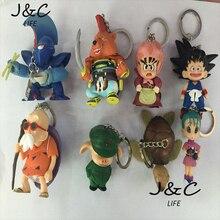 Free Shipping 8Pcs/lot Dragon Ball Action Figures Toys 3-8cm PVC Action Figures Doll PVC Model Toys