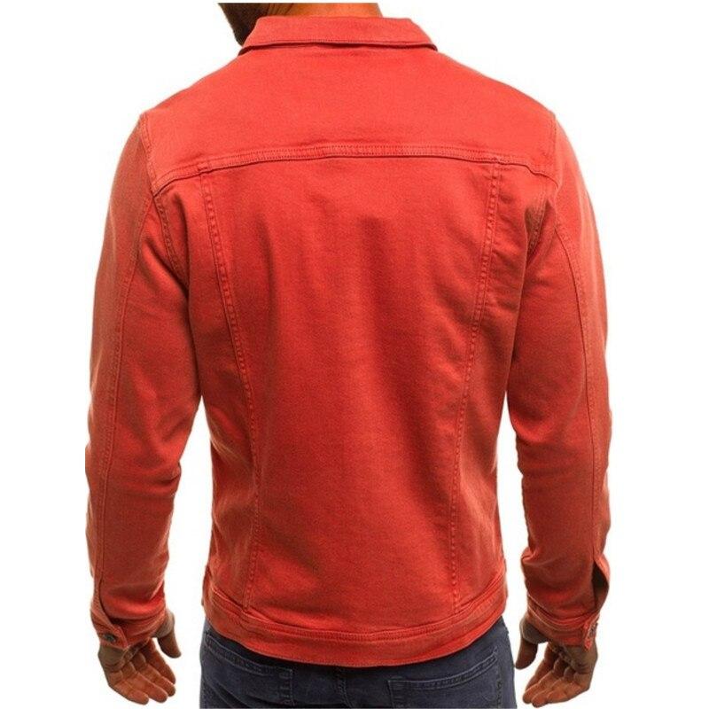 HTB13nT.LSzqK1RjSZFpq6ykSXXaf 2019 men's Jacket casual overalls jacket jacket Coats Man Buttons