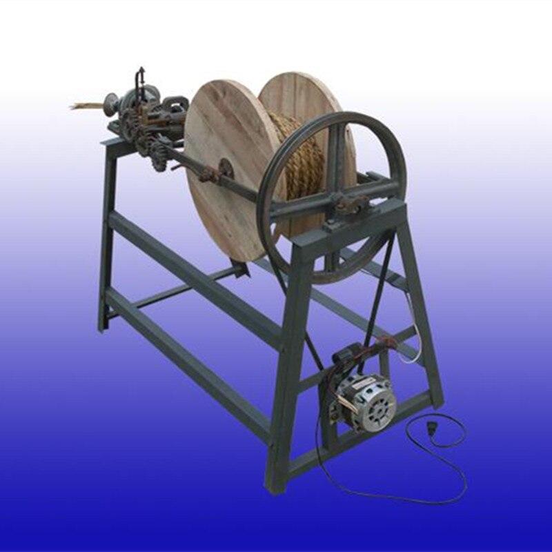 Hay And Straw Rope Knitting Making Machine