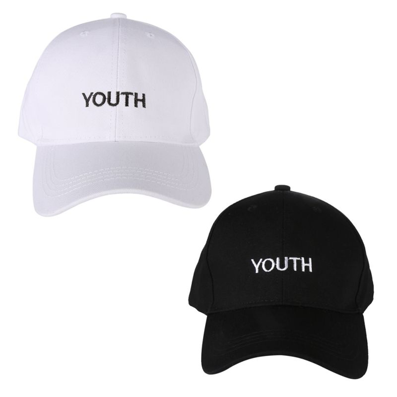 New Arrival Fashion  Embroidered Youth Couple Hats Women Men Summer Spring Cotton Caps Adult baseball Cap Black White Hat 2016 new new embroidered hold onto your friends casquette polos baseball cap strapback black white pink for men women cap