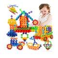 400 unids coscosx copo de nieve de construcción de ladrillos de juguete diy montaje educativo de aprendizaje temprano juguetes clásicos regalo de los cabritos