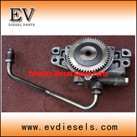 Used genuine type 3LB1 3LD1 oil pump for Isuzu mini tractor 3LB1 engine