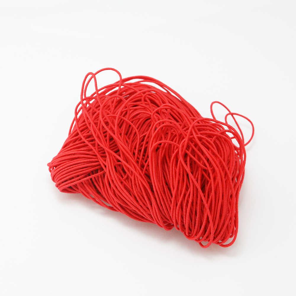 25 メートル 10 色の選択 1 ミリメートルビーズ弾性ストレッチコードビーズコード文字列ストラップロープビーズ糸ブレスレット DIY