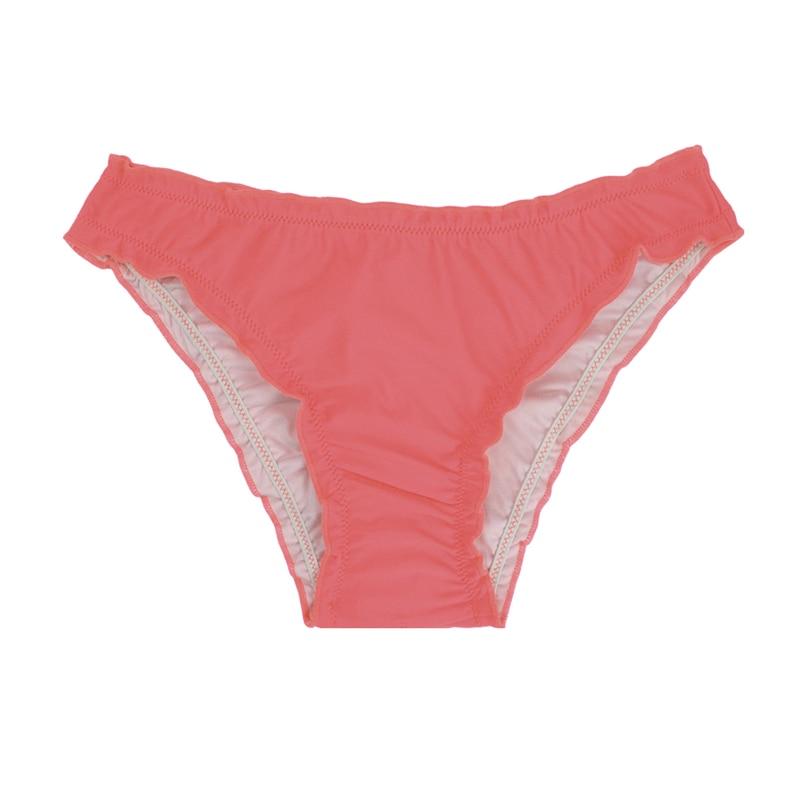 Женский купальник с низкой талией бикини снизу микро Chiffons печати двух частей отделяет плавки сексуальные купальник женский летний B607 - Цвет: B607B