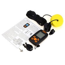 Portable wireless fish finder 0.6to100m depth sonar sensor fishfinder echosounder fishing sounder wireless fishing tackle finder