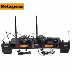Betagear SR2050 IEM 4 Receivers in ear stage system monitor BT2050 earphone stage monitor iem monitoring system for preformance
